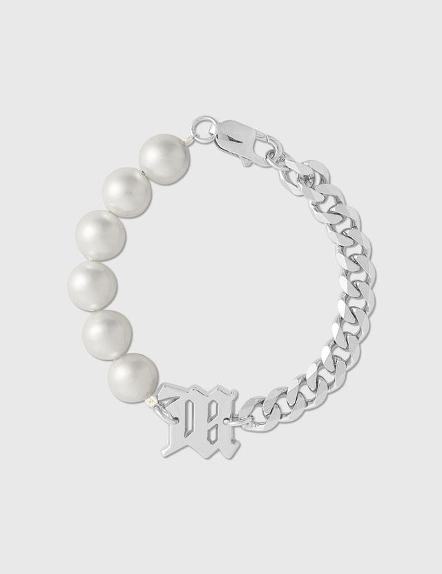 Misbhv Classic Half Pearl Bracelet White Pearl Women