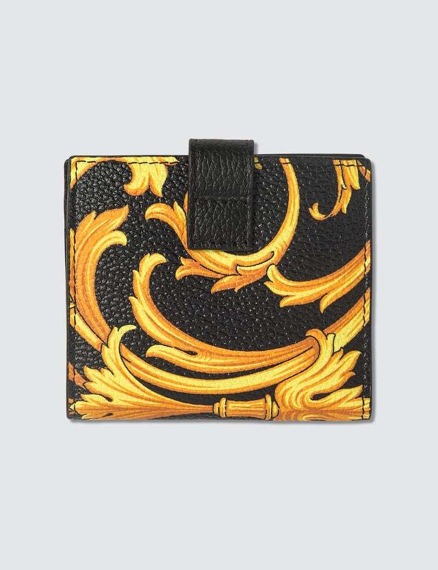 Versace Le Pop Classique Print Card Holder