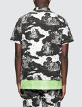 Vyner Articles Hawaiian Shirt Black / White Men