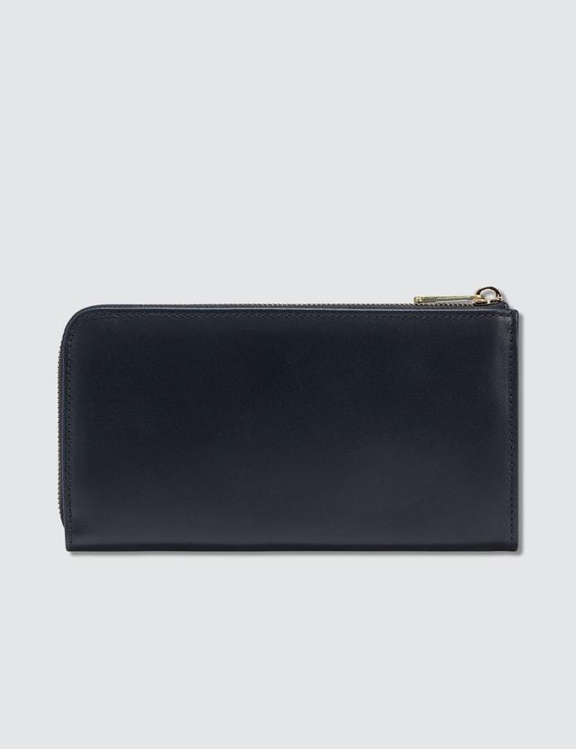 A.P.C. Portfeuille Long Zip Wallet