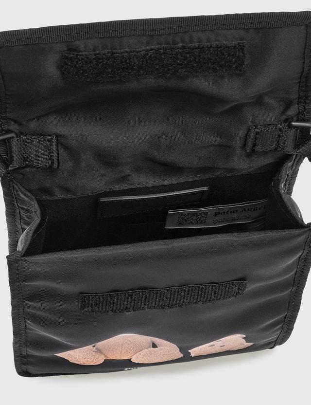 Palm Angels Palm Angels Bear Pocket Bag Black Men