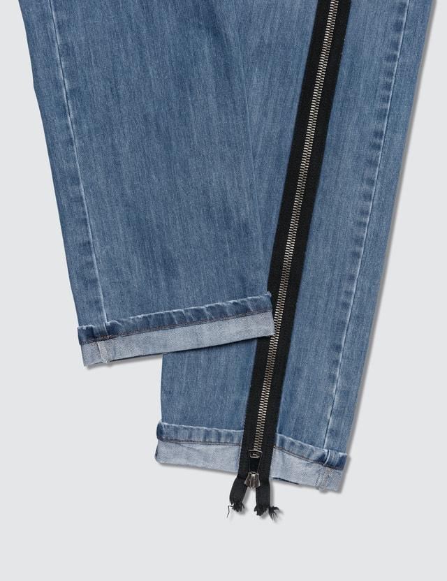 Faith Connexion No Fear Detailed Denim Jeans