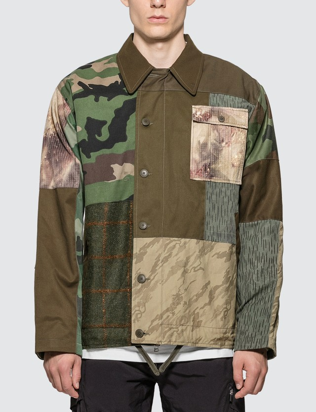 Maharishi Upcycled Mil Deck Jacket