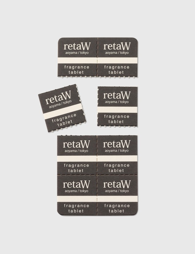 Retaw ALLEN* Fragrance Tablet White Unisex