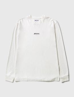 Earthling Collective Felt Logo Oversize Long Sleeve T-shirt