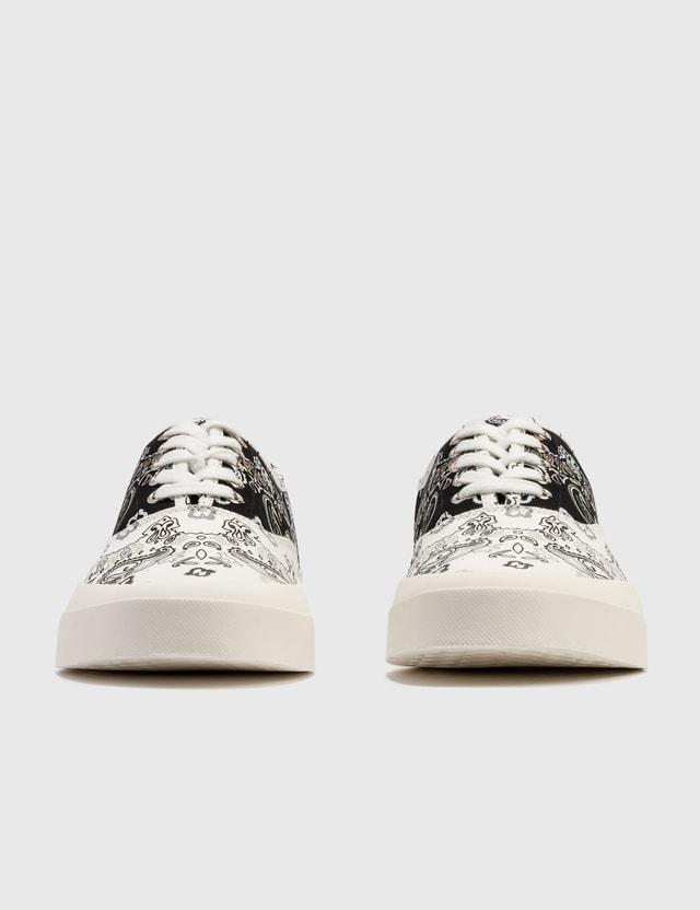 Maison Kitsune Bandana Print Low Sneakers
