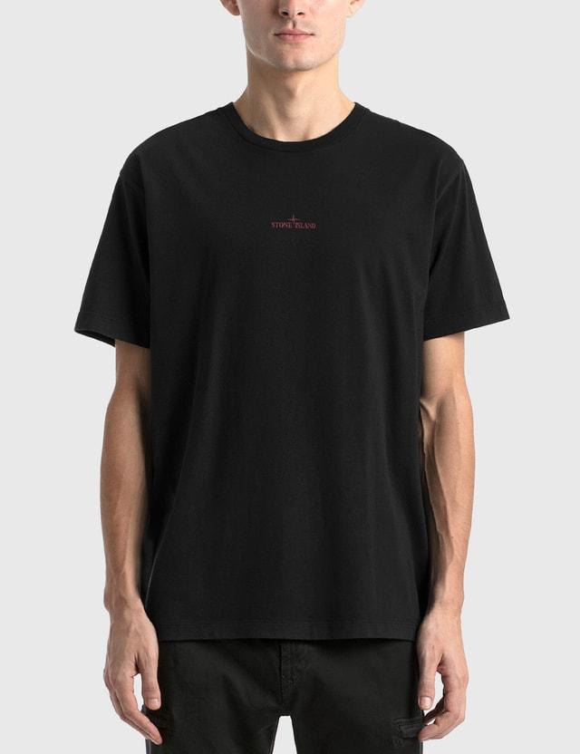 Stone Island Logo Graphic T-Shirt