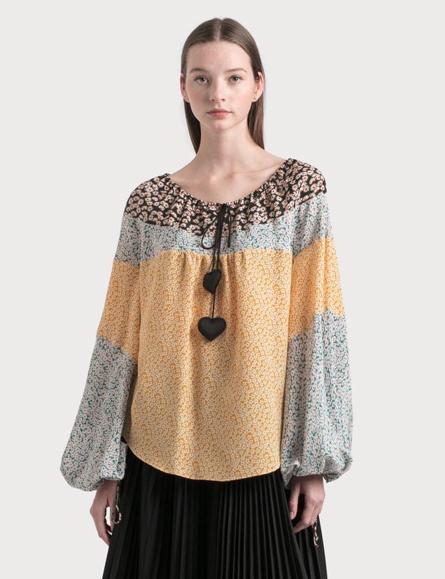 Lanvin Silk Blouse Sun Women