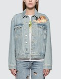 Fiorucci Nico Front Patch Denim Jacket