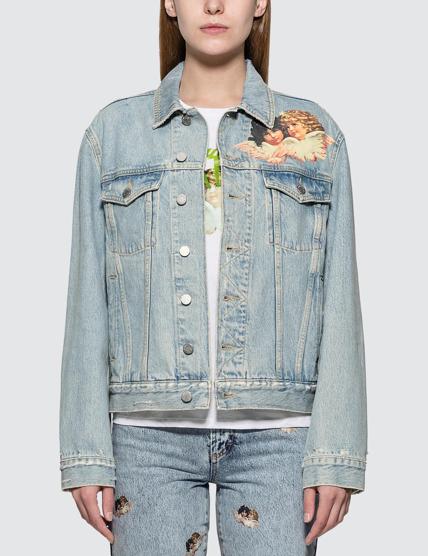 Nico Front Patch Denim Jacket