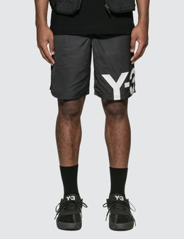 Y-3 Logo Swim Shorts