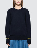 Maison Margiela Round-neck Colour-block Sweater Picture