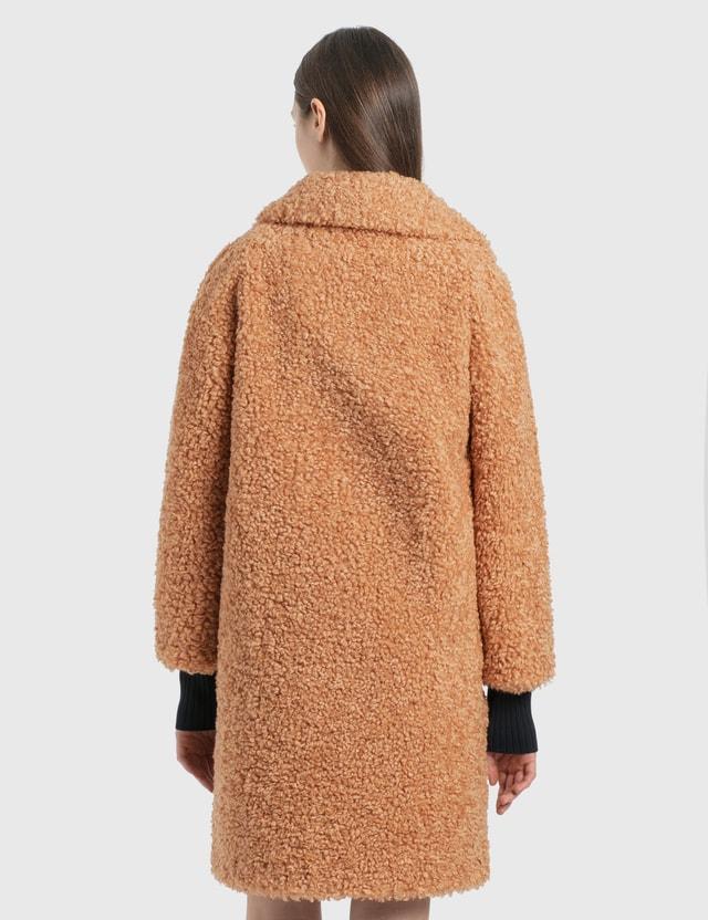 Stand Studio Camille Cocoon Coat 10400 Camel Women