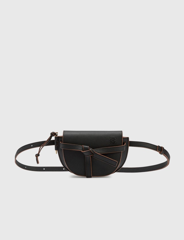 Loewe Mini Gate Dual Bag Black Women