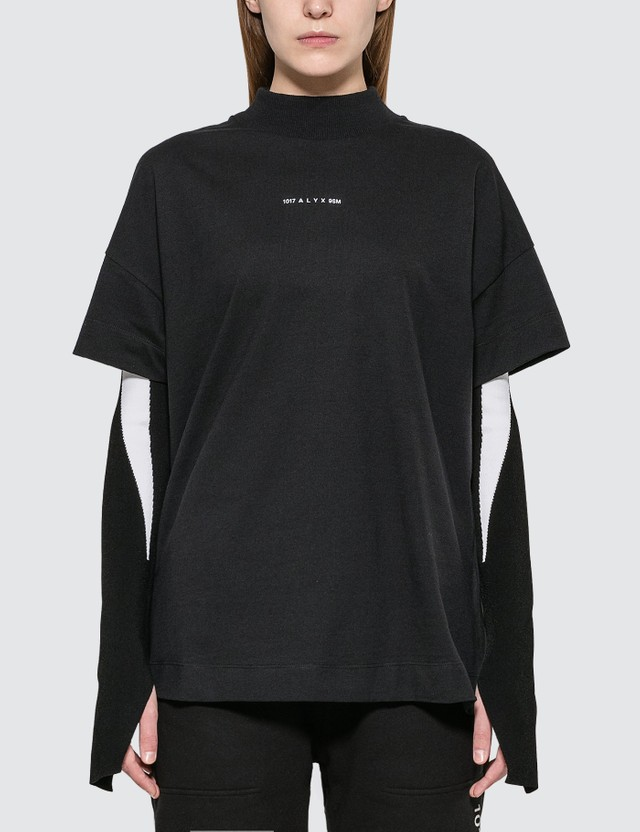 1017 ALYX 9SM Mock Neck Visual T-shirt