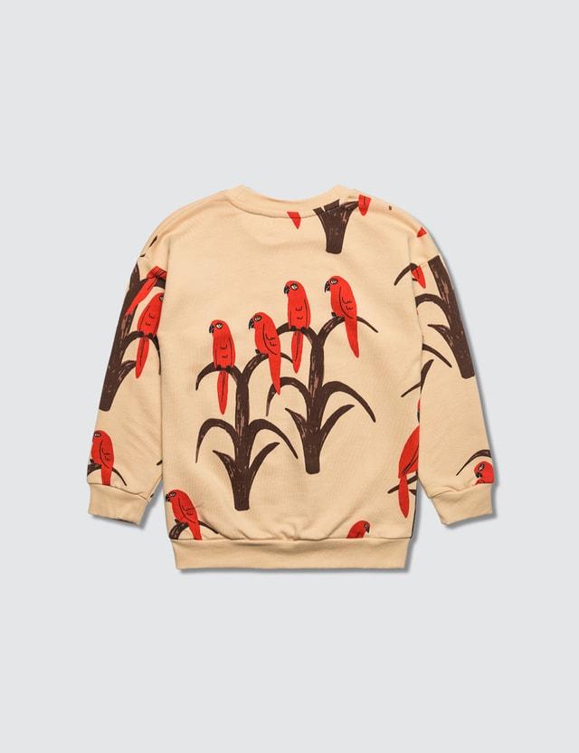Mini Rodini Allover Parrot Sweatshirt