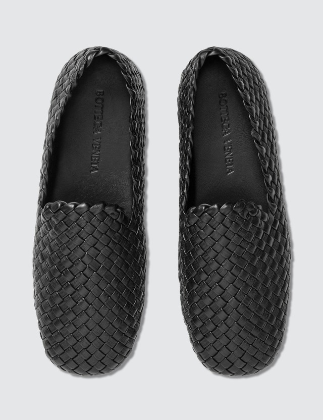 Bottega Veneta Weave Leather Loafer