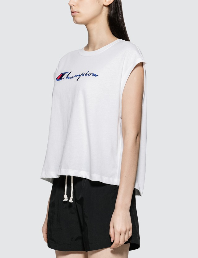 Champion Reverse Weave Cropped Oversized Tank Top