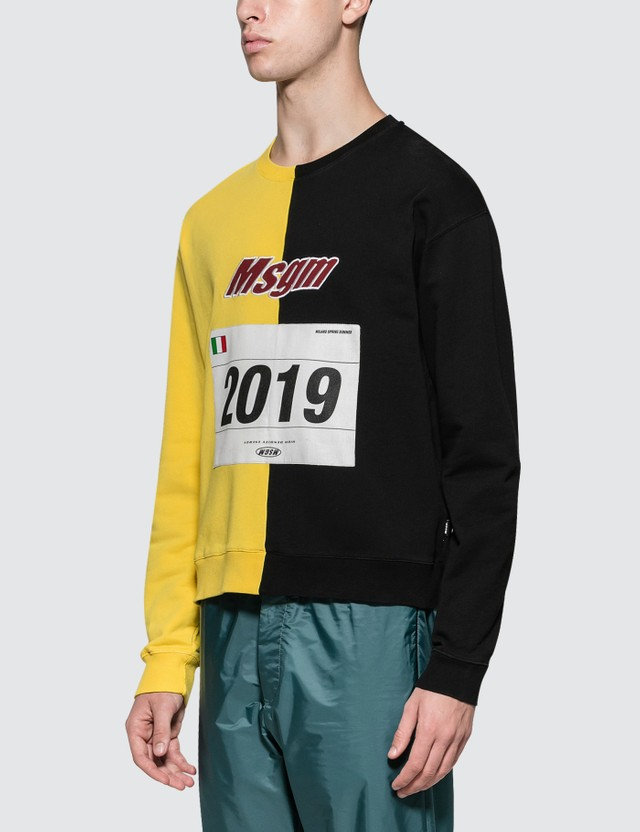 MSGM Split  Sweatshirt