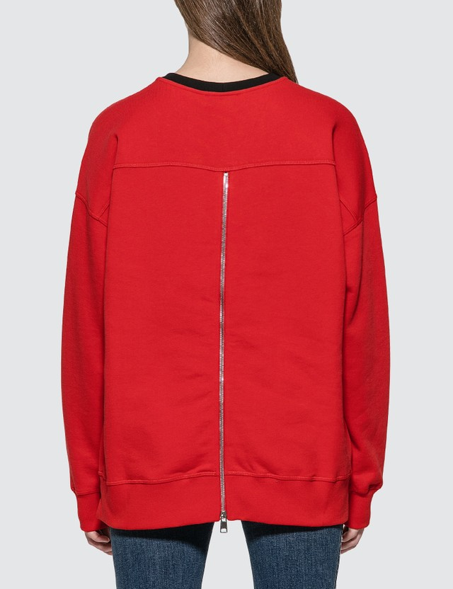 Alexander McQueen Rose Embroidered Sweatshirt