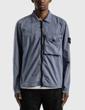 Stone Island Zip Pocket Overshirt Picutre