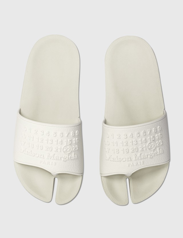 Maison Margiela Tabi Slipers Blanc Men