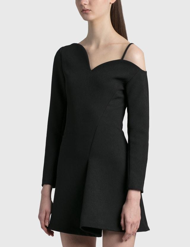 Coperni Heart Motion Dress Black Women
