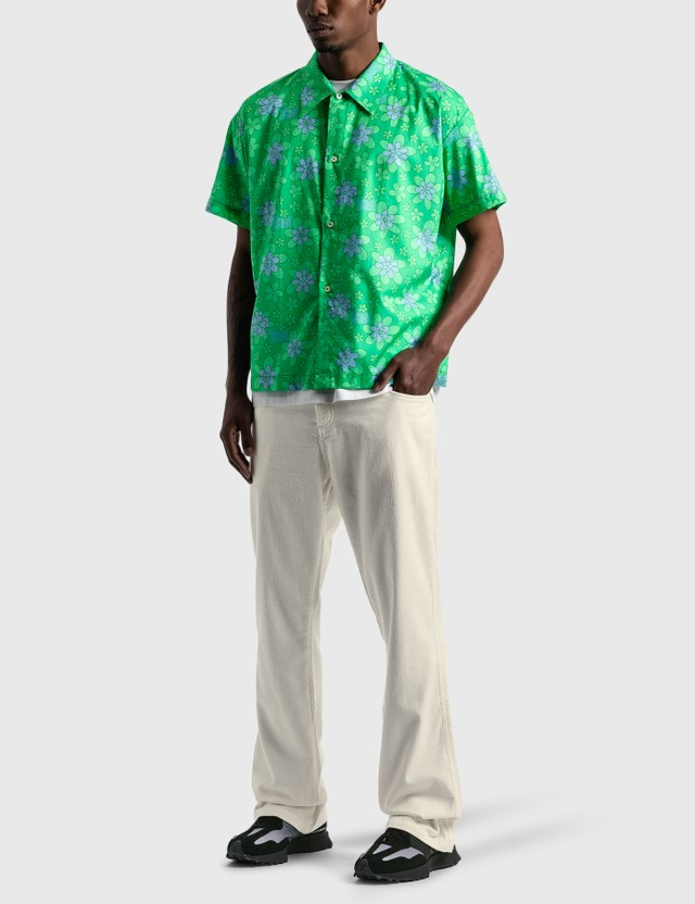 ERL Inside Out Cord Pants White Men