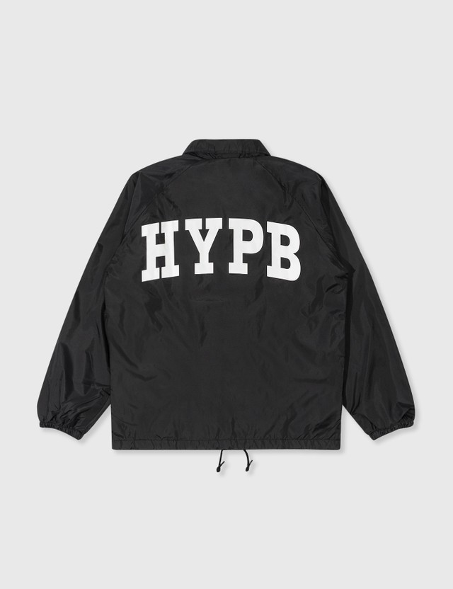 Stationeries by Hypebeast x Fragment HYPB Coach Jacket Black Unisex