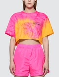 Misbhv Xtasea Spiral Tie Dye Cropped T-shirt Picture