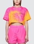 Misbhv Xtasea Spiral Tie Dye Cropped T-shirt Picutre
