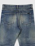 Saint Laurent Straight-Fit Jeans In Dirty Winter Blue Denim Dirty Winter Blue Men