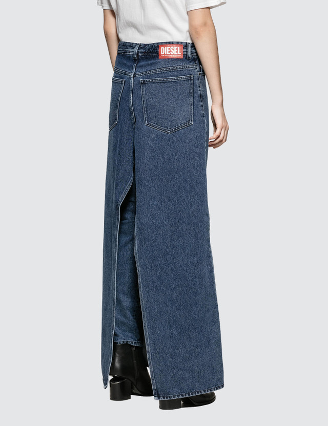 Diesel Red Tag Ultimate Wide Leg Jeans