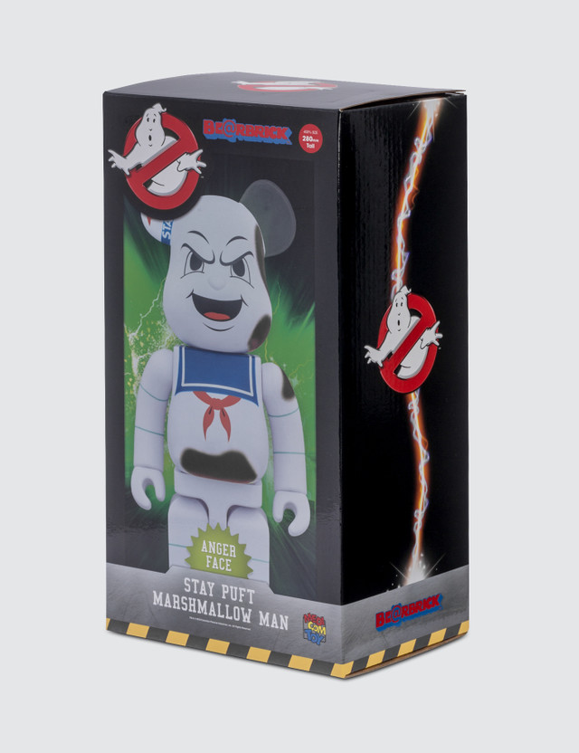 "Medicom Toy 400% Marshmallow Man ""Anger Face"" Be@rbrick"
