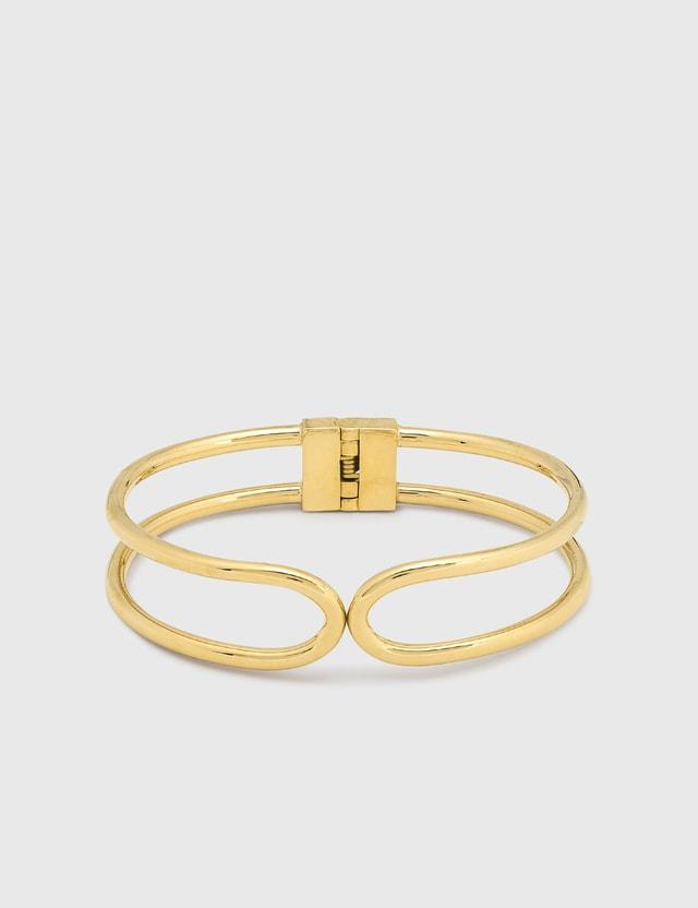 Undercover Hinge Bracelet Gold Men
