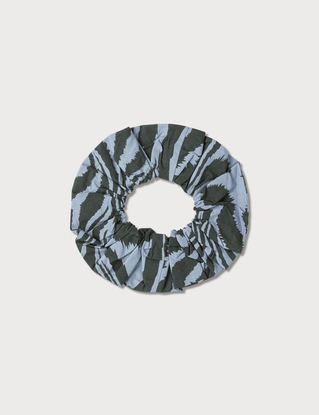 Ganni Print Cotton Poplin Hair Band