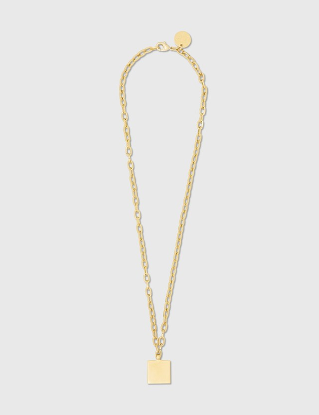 Young Frankk Square Chain Gold Plated Women