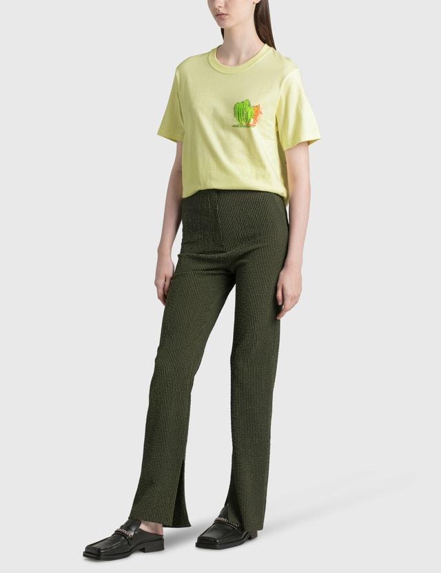 Stussy Desert Bloom T-shirt Yellow Women