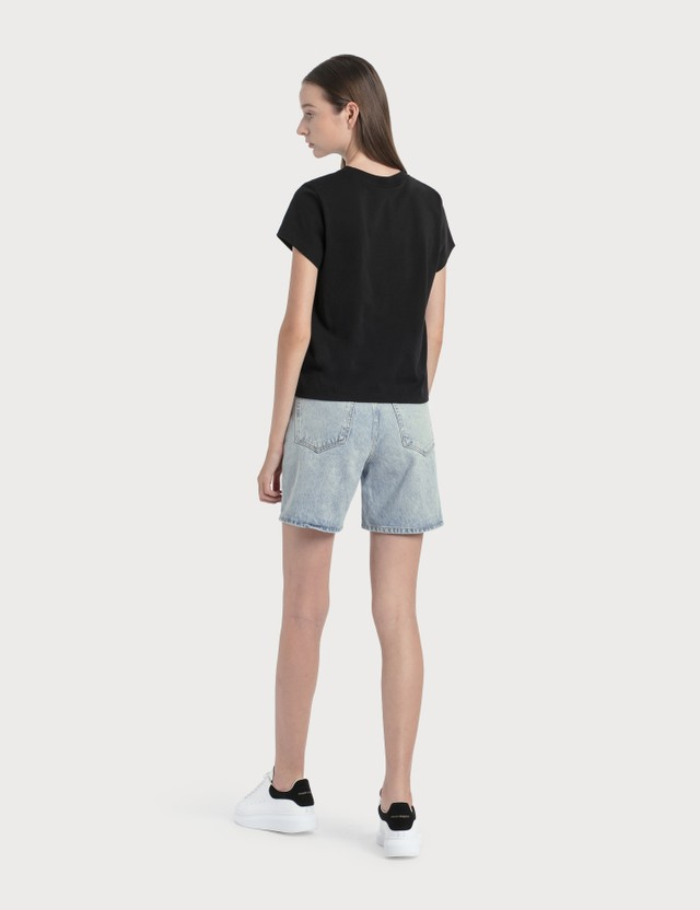 Alexander Wang.T Boy Shorts Pebble Bleach Women