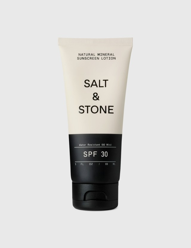 SALT & STONE SPF 30 Natural Mineral Sunscreen Lotion White Unisex