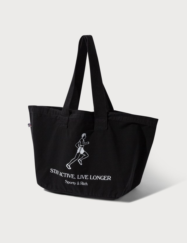 Sporty & Rich Live Longer Tote Bag