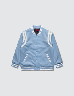 Haus of JR Teddy Varsity Jacket
