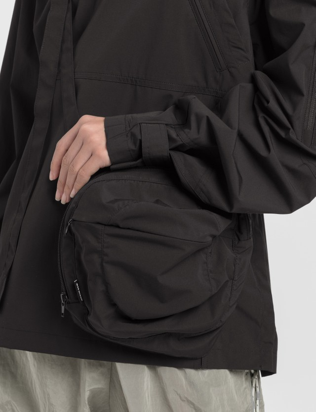 Hyein Seo Packable Anorak With Crossbody Bag Black Women
