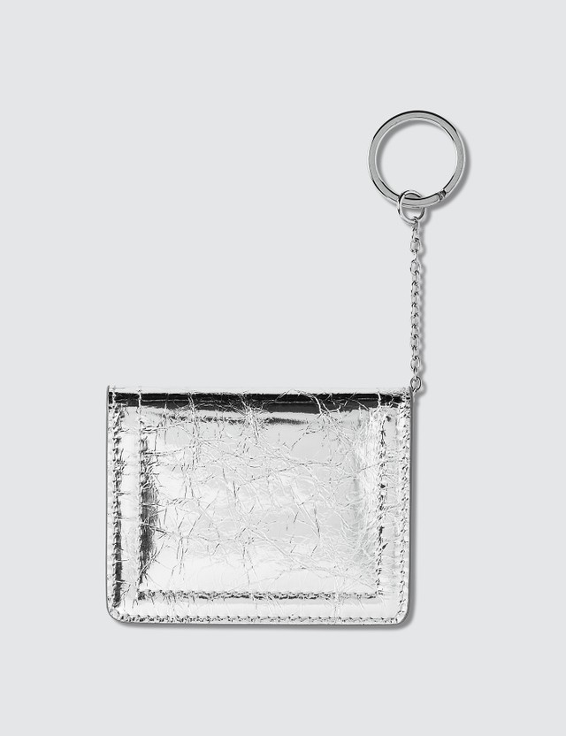 Maison Margiela Crinkle Leather Fold Card Holder