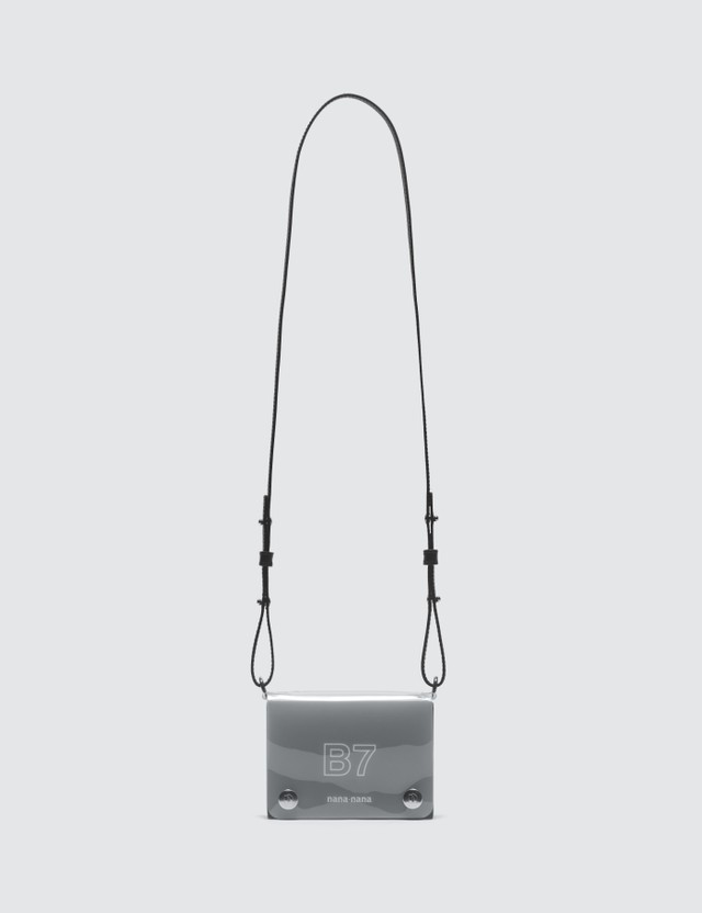 Nana-nana Leather x PVC B7 Bag Black Women