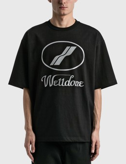 We11done We11done Reflective Logo T-Shirt
