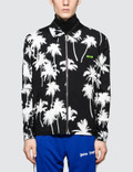 MSGM Palm Tree Print Zip Blouson Jacket Picutre