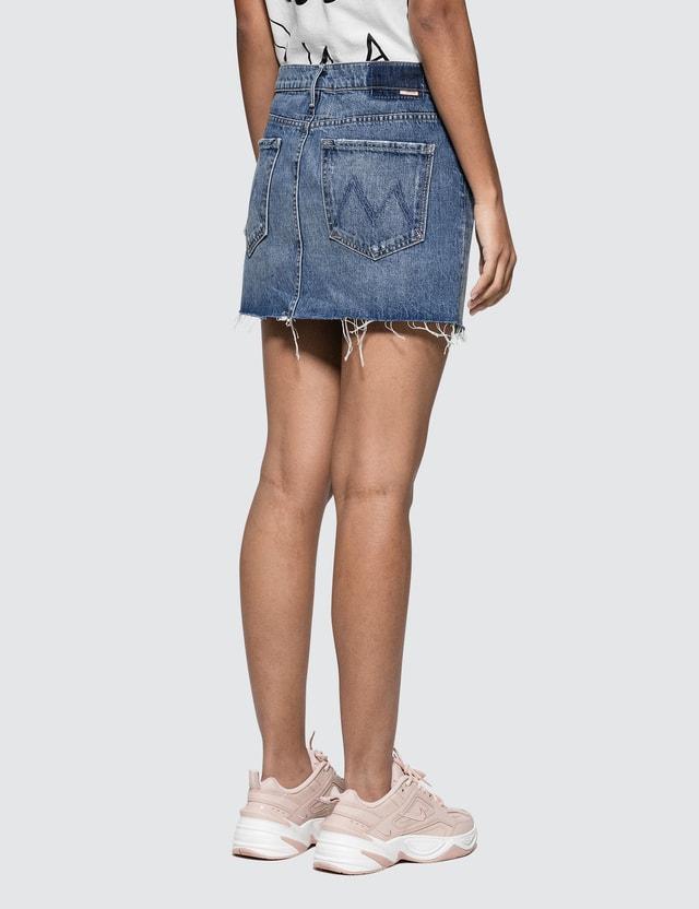 Mother The Vagabond Mini Fray Skirt