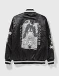 Icecream Icecream X Jun Inagawa Varsity Jacket Black Unisex