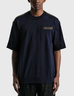 Sacai Knit x Suiting T-shirt